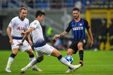Tottenham Inter formazioni Champions