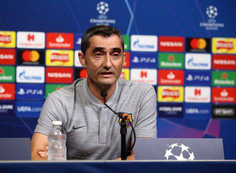 Inter Barcellona Champions Valverde