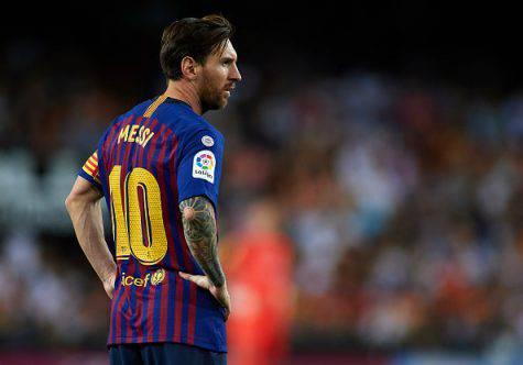Inter Barcellona Champions Messi