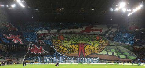 Inter derby tifosi media spettatori