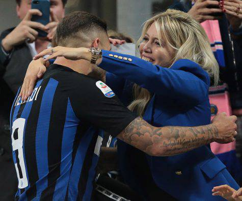 Inter Icardi Lautaro Wanda Nara Spalletti