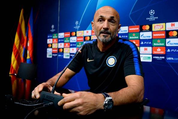 Inter Barcellona Champions Spalletti formazione