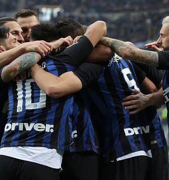 Inter Sassuolo formazioni ufficiali