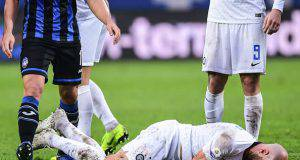 Atalanta Inter infortunati Borja Valero Miranda