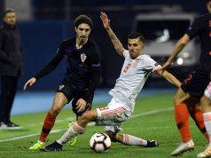 Inter Vrsaljko infortunio Croazia Inghilterra