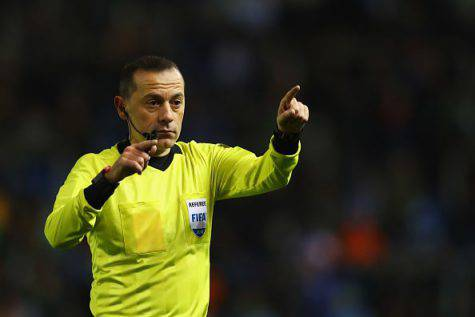 Tottenham Inter arbitro Cakir Champions
