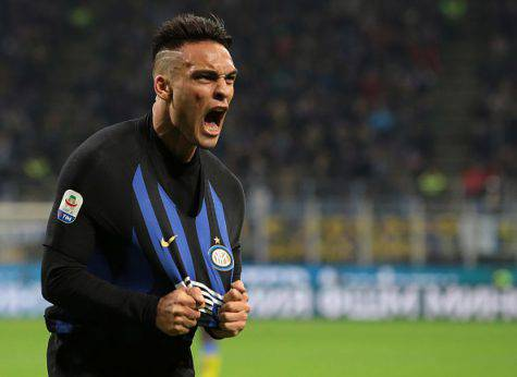 Inter Frosinone Lautaro Martinez