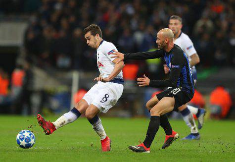 Tottenham Inter Borja Valero