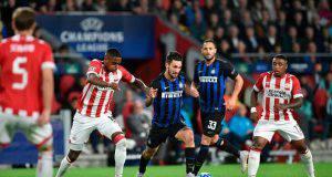 Champions Inter Psv formazioni