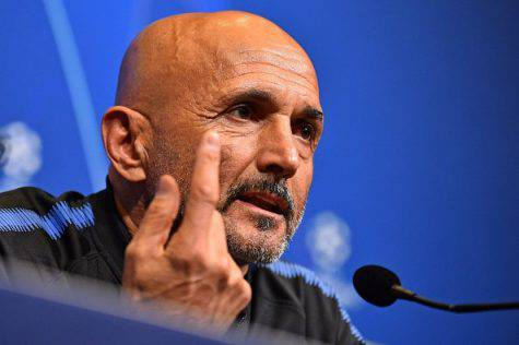 Chievo Inter conferenza Spalletti
