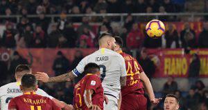 Roma Inter cronaca pagelle tabellino