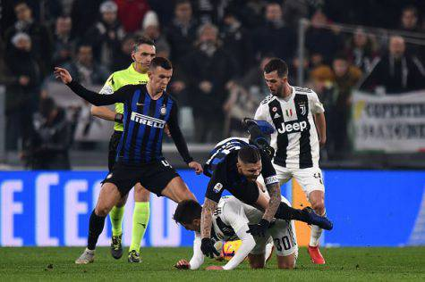 Juventus Inter scontri post gara
