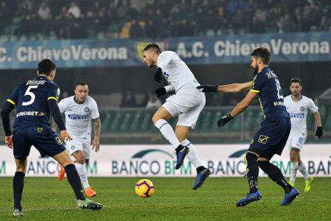 Chievo Inter Perisic Icardi Pellissier