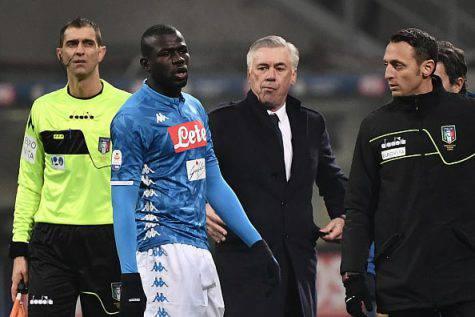 Inter Napoli Ancelotti Koulibaly