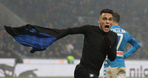Inter Napoli Lautaro Martinez