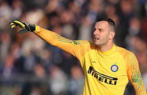 Inter Sassuolo Handanovic