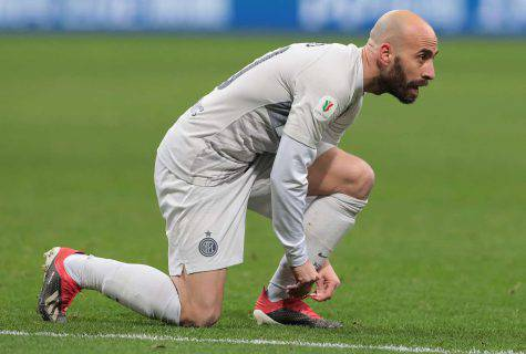 frosinone inter infortunio borja valero