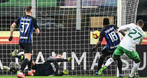 Inter Sassuolo cronaca pagelle tabellino