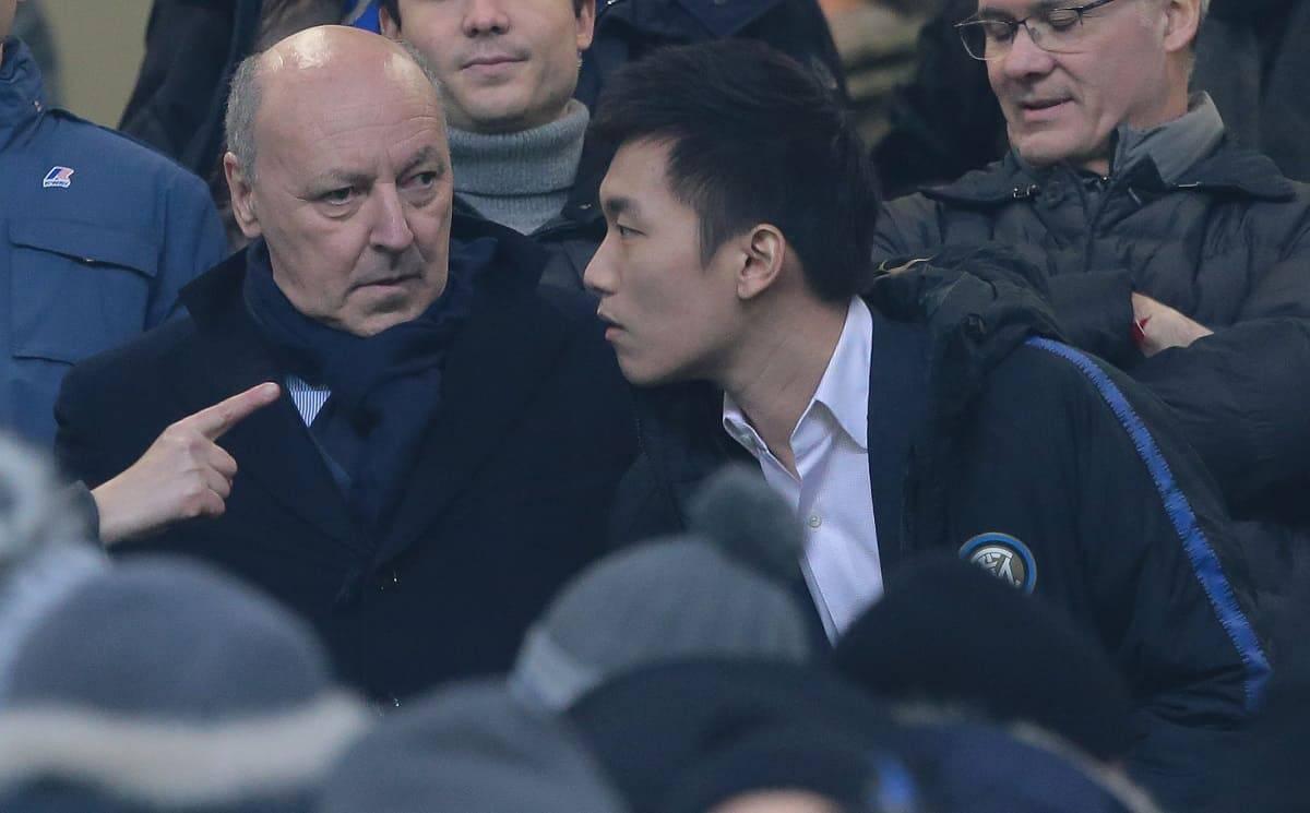 Calciomercato Inter Marotta Steven Zhang