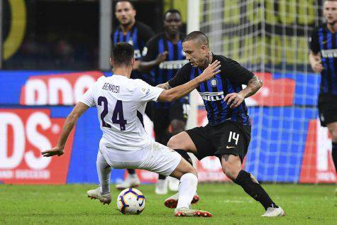 Fiorentina Inter Serie A formazioni ufficiali