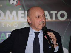Calciomercato Inter marotta eriksen giroud politano spinazzola