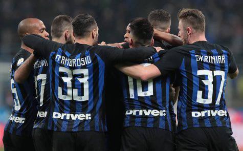 Inter Rapid formazioni ufficiali