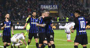 Inter Sampdoria pagelle tabellino