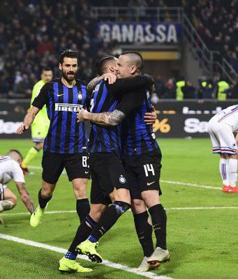 Inter Sampdoria pagelle tabellino