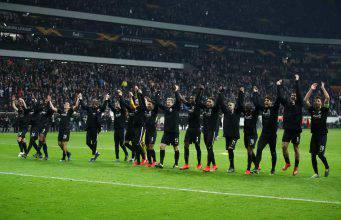 Europa League Eintracht Francoforte Inter