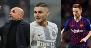 Calciomercato Inter Spalletti Icardi Marotta Volpi Rakitic