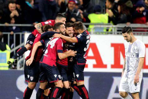 Cagliari Inter pagelle tabellino