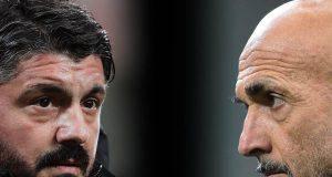 Milan Inter formazioni ufficiali derby
