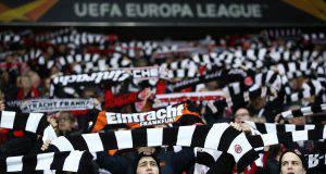 Inter Eintracht tifosi
