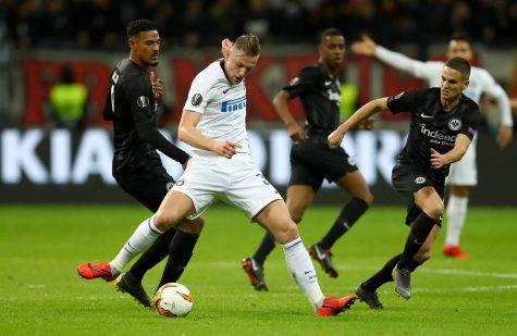 Inter Eintracht probabili formazioni