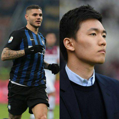 Inter Icardi Steven Zhang