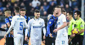 Inter Atalanta formazioni ufficiali