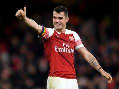 calciomercato inter xhaka arsenal