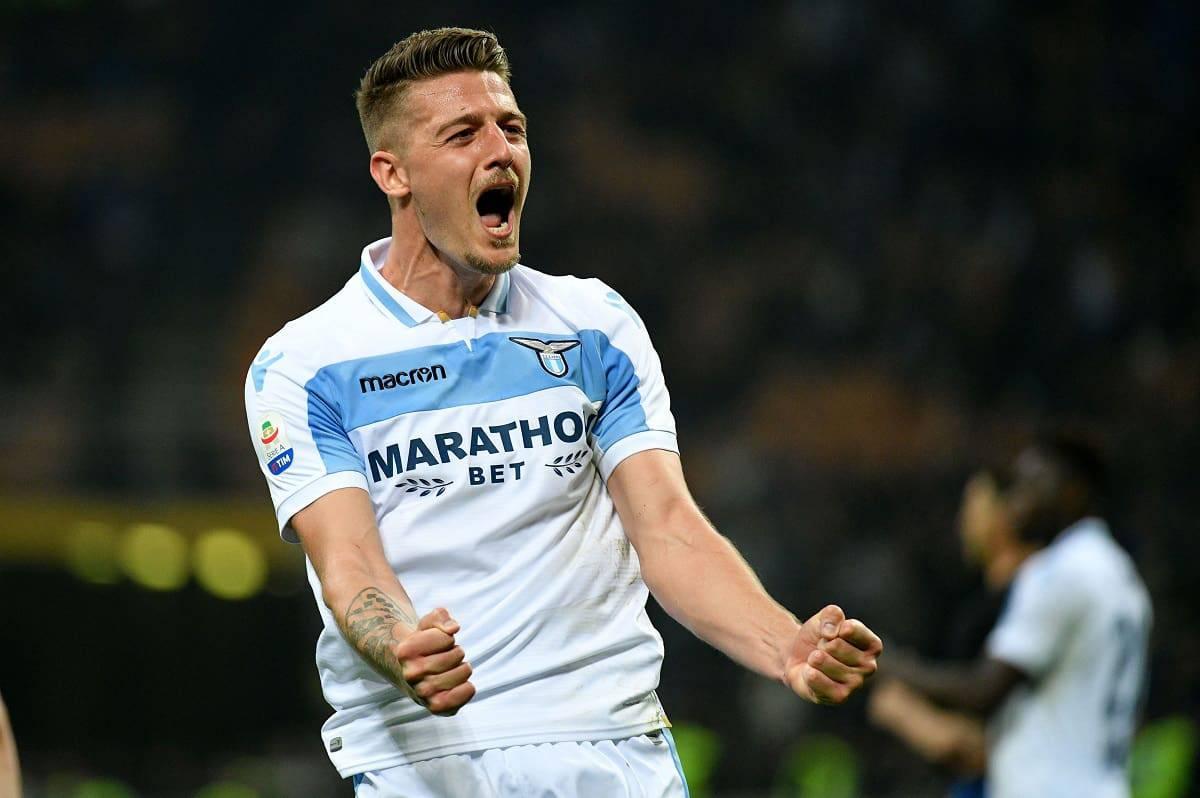 Calciomercato Inter Milinkovic Lazio Lotito