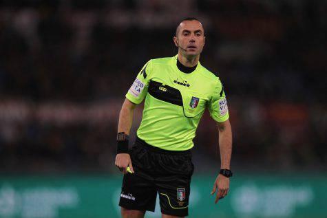 guida arbitro inter roma