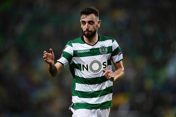 Bruno Fernandes Sporting @Getty Images