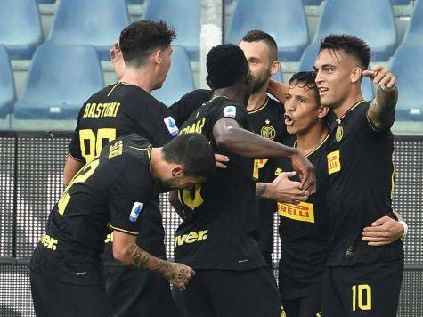 sampdoria inter pagelle tabellino