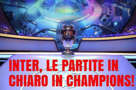 Calendario Partite Champions.Champions League Ufficiale Le Partite In Chiaro In Tv Dell