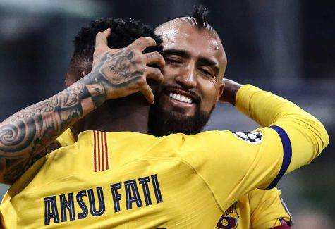 calciomercato inter vidal champions