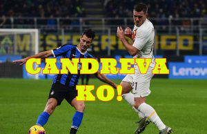 inter roma infortunio candreva