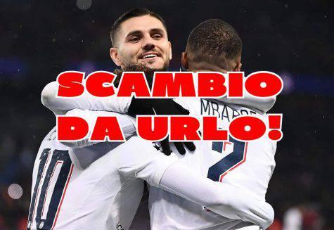 calciomercato inter icardi scambio real isco