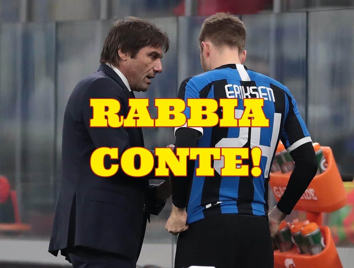 calciomercato inter conte vice lukaku eriksen marotta