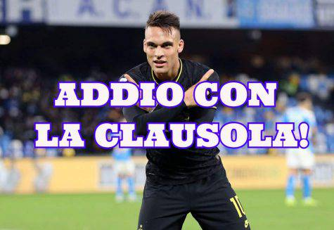 calciomercato inter lautaro real madrid clausola