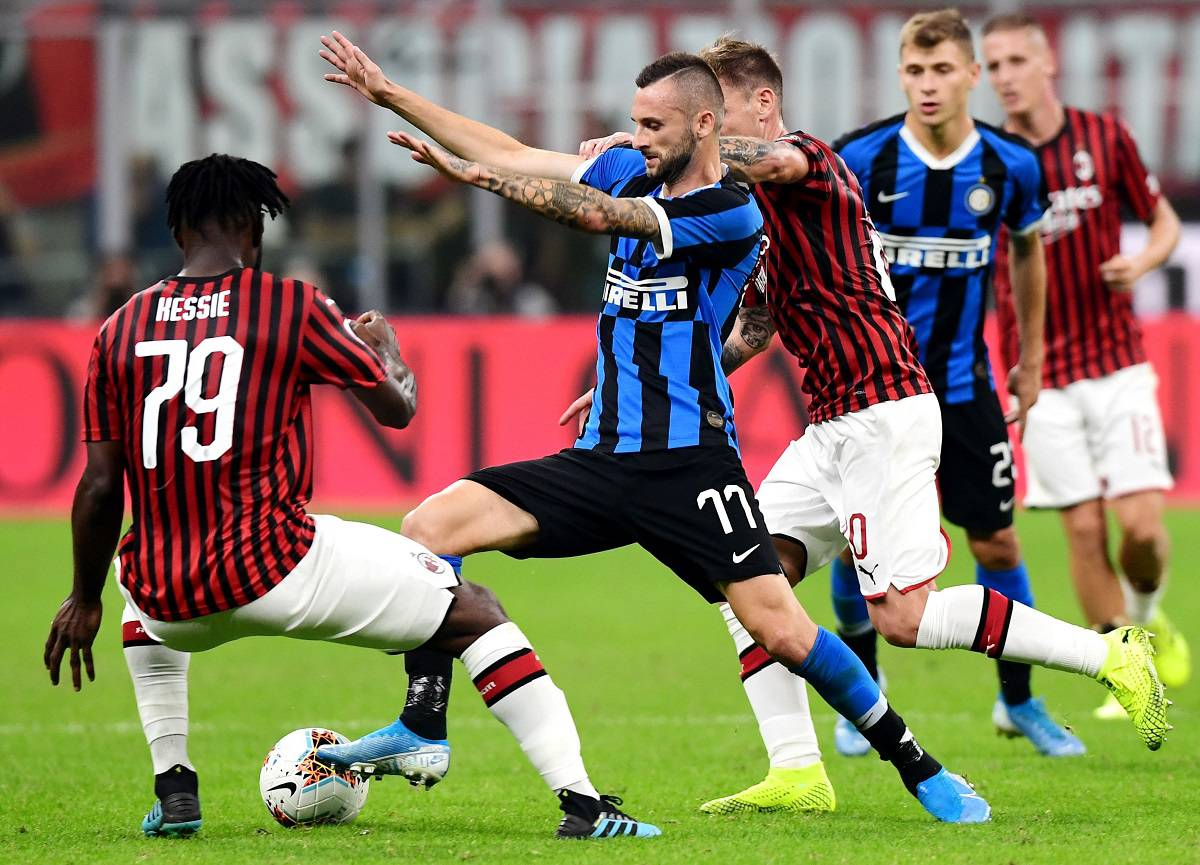 inter milan derby brozovic