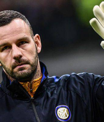 inter handanovic infortunio derby milan