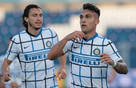 Soliti errori difensivi del Sassuolo, ma l'Inter concretizza e vince 3-0